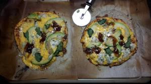 bake pizza