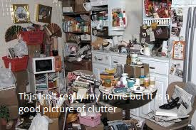 Clutter is depressing