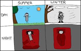 winter vs summer